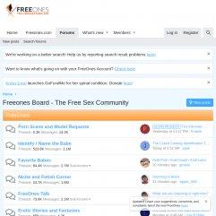 FreeOnes Board
